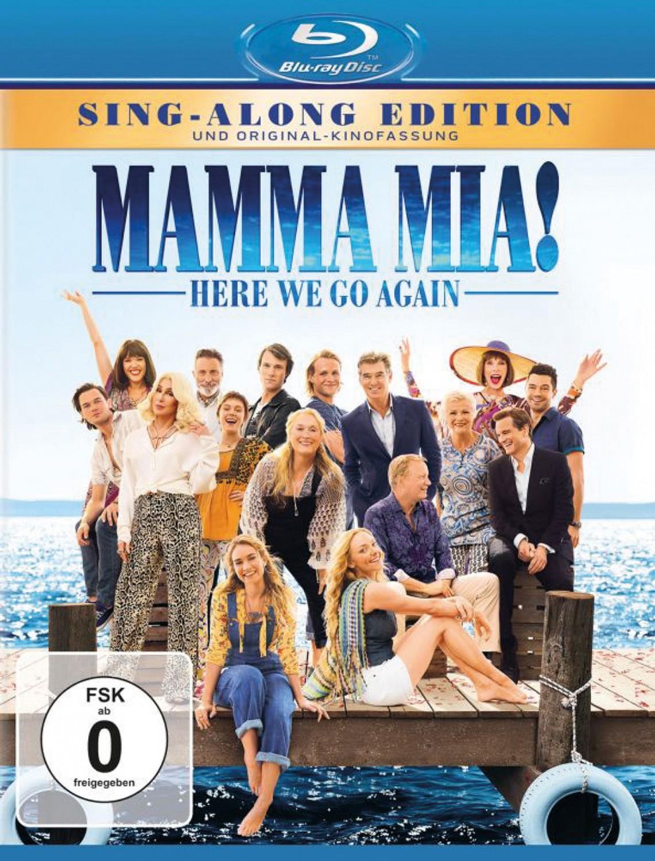 Blu-ray Film Mamma Mia: Here We Go Again! (Universal) im Test, Bild 1