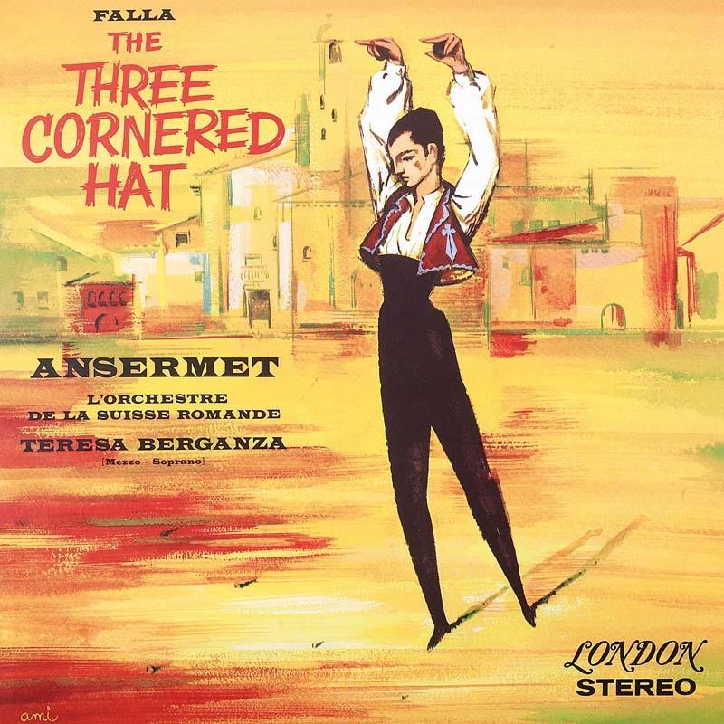 Schallplatte Manuel de Falla – The Three Cornered Hat – L´Orchestre de la Suisse Romande, Ernest Ansermet (London) im Test, Bild 1