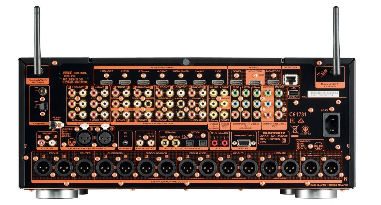 AV-Kombinationen Marantz AV8802/MM8077 im Test, Bild 3
