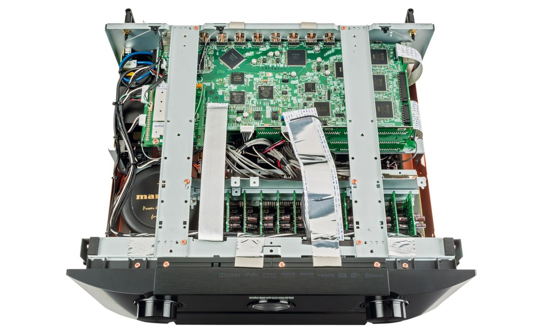 AV-Kombinationen Marantz AV8802/MM8077 im Test, Bild 5