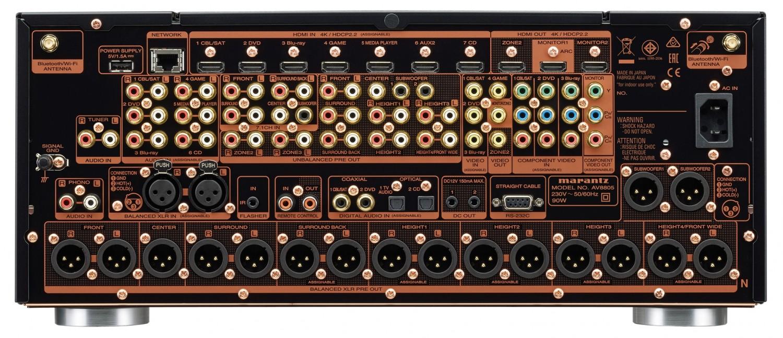 AV-Vorstufen Marantz AV8805 im Test, Bild 5