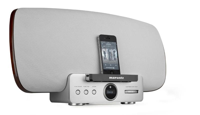 AirPlay-Speakersystem Marantz Consolette MS 7000 im Test, Bild 1