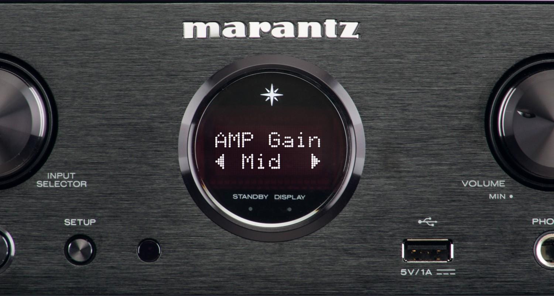 Kopfhörerverstärker Marantz HD-DAC1 im Test, Bild 2
