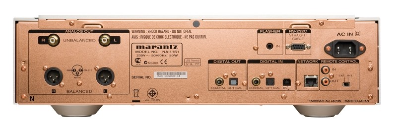 D/A-Wandler Marantz NA11S1 im Test, Bild 2