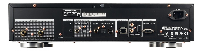 DLNA- / Netzwerk- Clients / Server / Player Marantz NA8005 im Test, Bild 4