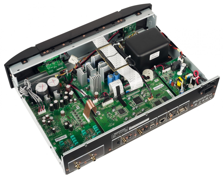 DLNA- / Netzwerk- Clients / Server / Player Marantz NA8005 im Test, Bild 6