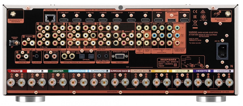 AV-Receiver Marantz SR8012 im Test, Bild 3