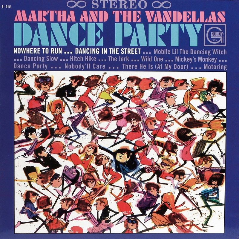 Schallplatte Martha and the Vandellas – Dance Party (Gordy) im Test, Bild 1
