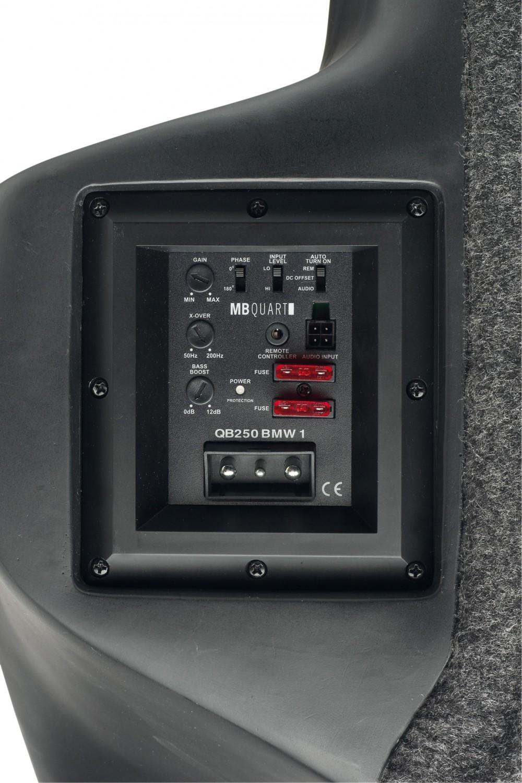 Car-Hifi Subwoofer Aktiv MB Quart QB250 BMW1 im Test, Bild 2