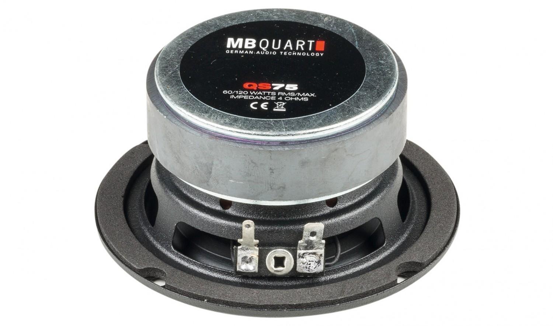 Car-HiFi Mitteltöner MB Quart QS75 im Test, Bild 2