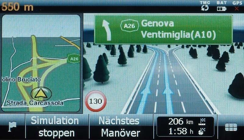 Portable Navigationssysteme Medion GoPal X4545 im Test, Bild 4
