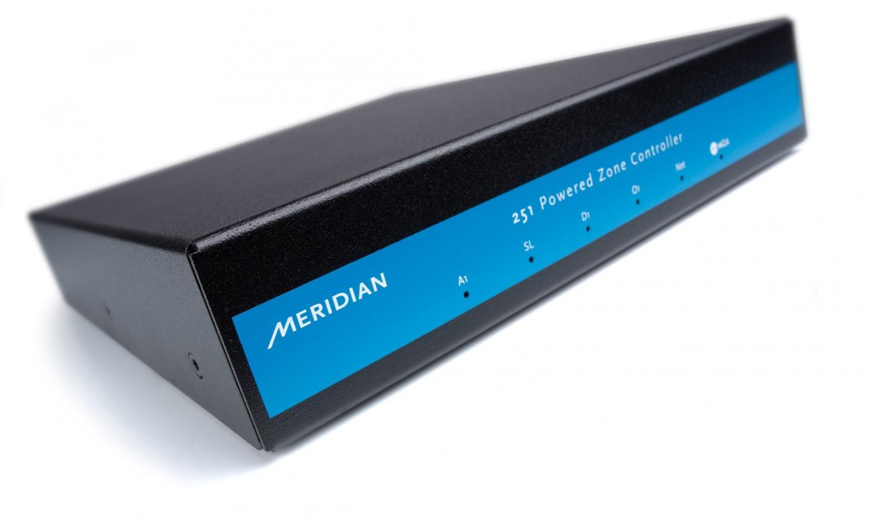 Vor-Endstufenkombis Hifi Meridian 251 Powered Zone Controller im Test, Bild 1