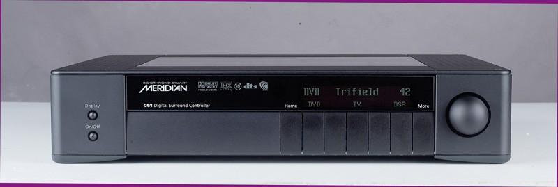 AV-Sonstiges Meridian HD621, Meridian G61R im Test , Bild 8