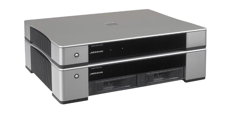 DLNA- / Netzwerk- Clients / Server / Player Meridian Media Drive 600, Meridian Media Core 200 im Test , Bild 2