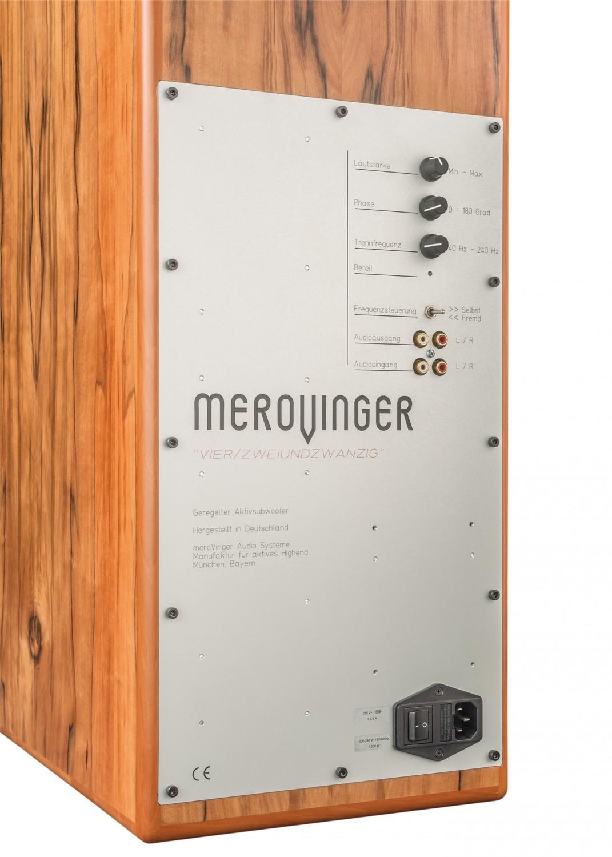 Subwoofer (Home) meroVinger Audio 4/22 im Test, Bild 5