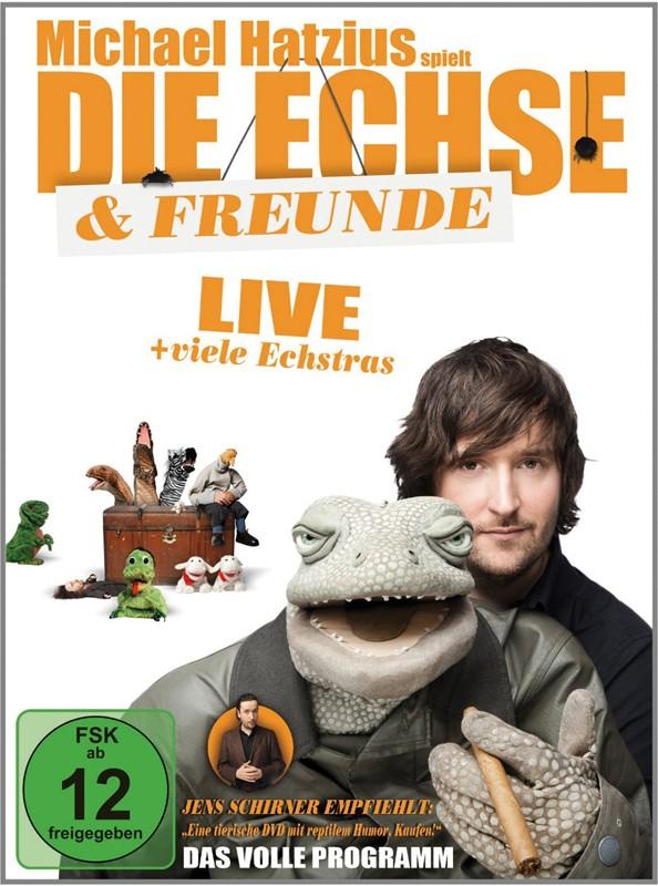 DVD Film Michael Hatzius – Die Echse & Freunde: Live (Rough Trade) im Test, Bild 1