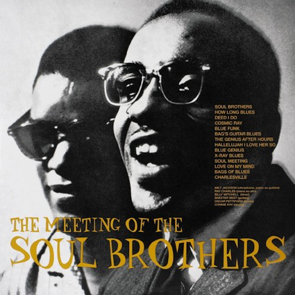 Schallplatte Milt Jackson & Ray Charles – The Meeting Of The Soul Brothers (DOXY Music) im Test, Bild 1