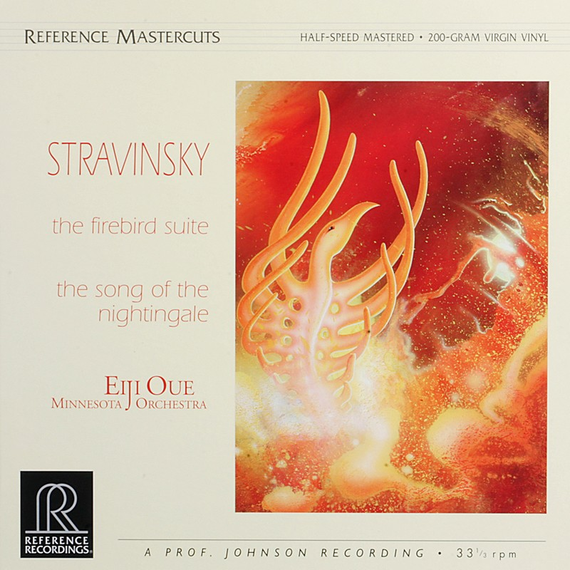 Schallplatte Minnesota Orchestra, Eiji Oue Igor Strawinsky: The Firebird Suite, The Song of the Nightingale (Reference Recordings) im Test, Bild 1