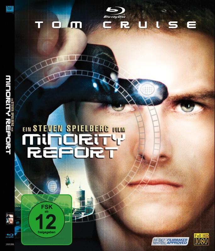 Blu-ray Film Minority Report (Fox) im Test, Bild 1