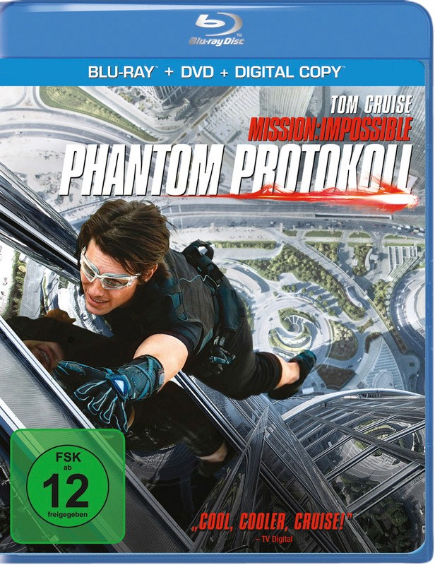 Blu-ray Film Mission Impossible – Phantom Protokoll (Paramount) im Test, Bild 1