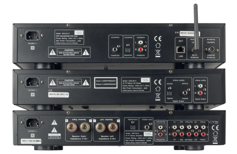 Vollverstärker Mitchell & Johnson SAP-201V/CDD-201V, Mitchell & Johnson WLD-211T im Test , Bild 3
