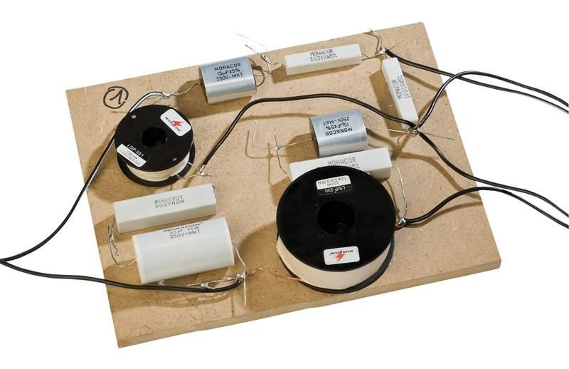 Lautsprecherbausätze Monacor Legno MkII mit TML-Sub aktiv, Monacor Legno MkII passiv im Test , Bild 4