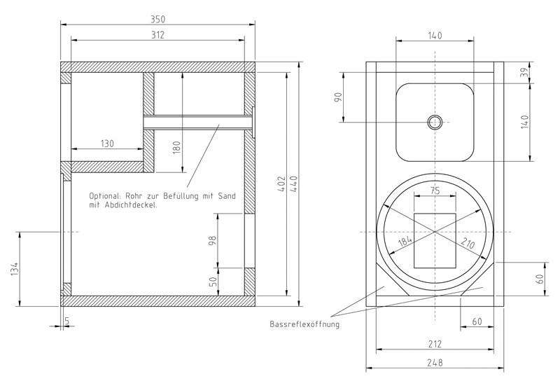 Lautsprecherbausätze Monacor Menhir-S im Test, Bild 10
