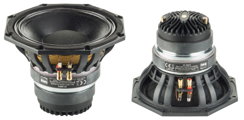 Lautsprecherchassis Breitbänder Monacor SP-308CX im Test, Bild 1