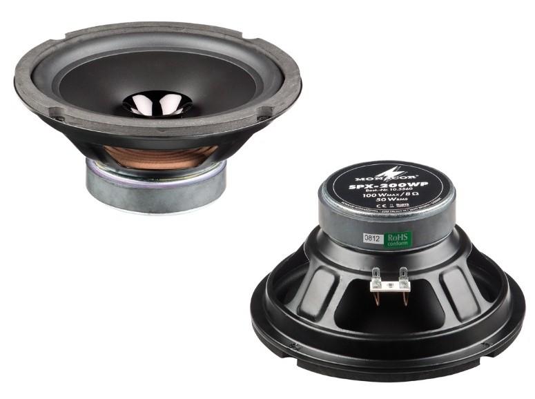 Lautsprecherchassis Breitbänder Monacor SPX-200WP im Test, Bild 1