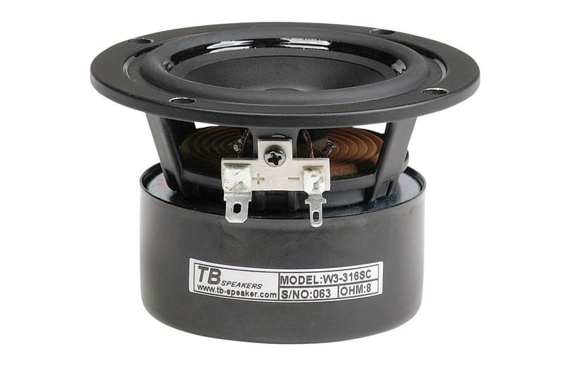 Lautsprecherchassis Breitbänder Monacor SPX-30TB im Test, Bild 1