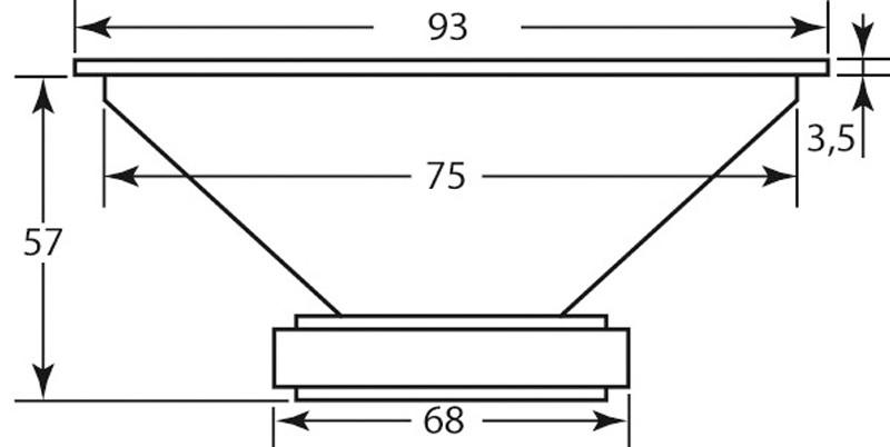 Lautsprecherchassis Breitbänder Monacor SPX-30TB im Test, Bild 8
