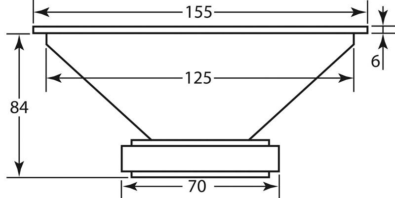 Lautsprecherchassis Breitbänder Monacor SPX-5/2TB im Test, Bild 13