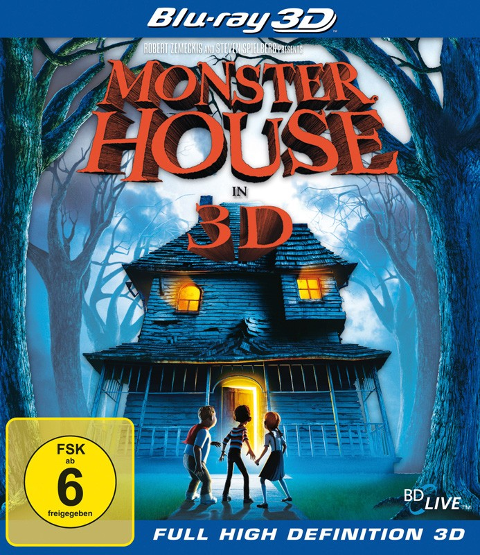 Blu-ray Film Monster House (Sony Pictures) im Test, Bild 1