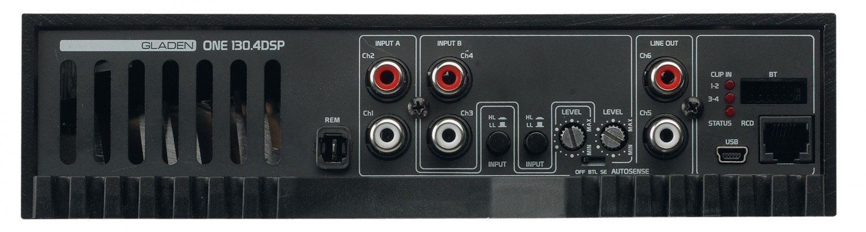 Car-HiFi Endstufe 4-Kanal Mosconi Gladen ONE 130.4 DSP im Test, Bild 6