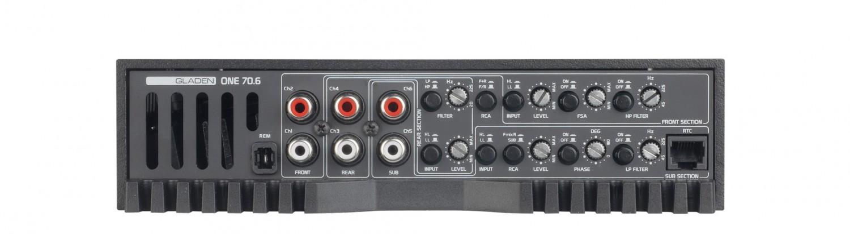 Car HiFi Endstufe Multikanal Mosconi Gladen ONE 70.6 im Test, Bild 25