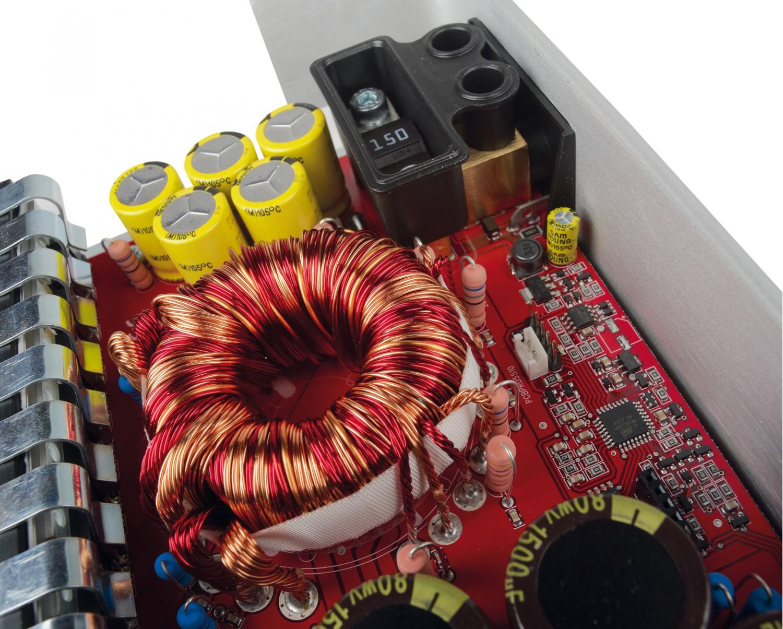 Car HiFi Endstufe Multikanal Mosconi Gladen PRO 5/30 im Test, Bild 5