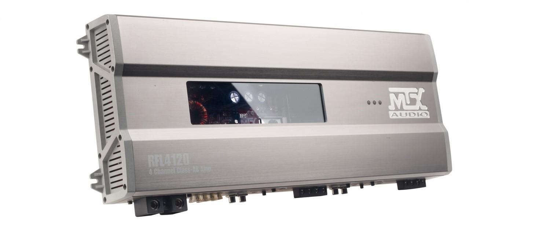 Car-HiFi Endstufe 4-Kanal MTX Audio RFL 4120 im Test, Bild 1
