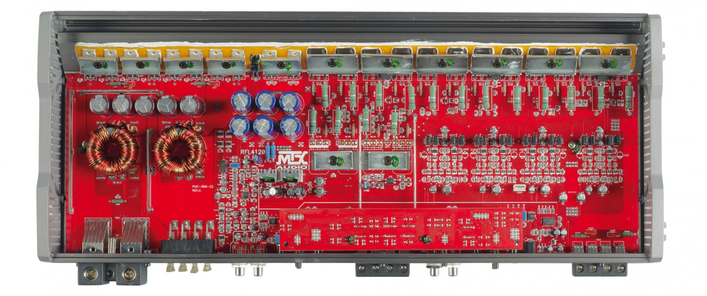 Car-HiFi Endstufe 4-Kanal MTX Audio RFL4120 im Test, Bild 23
