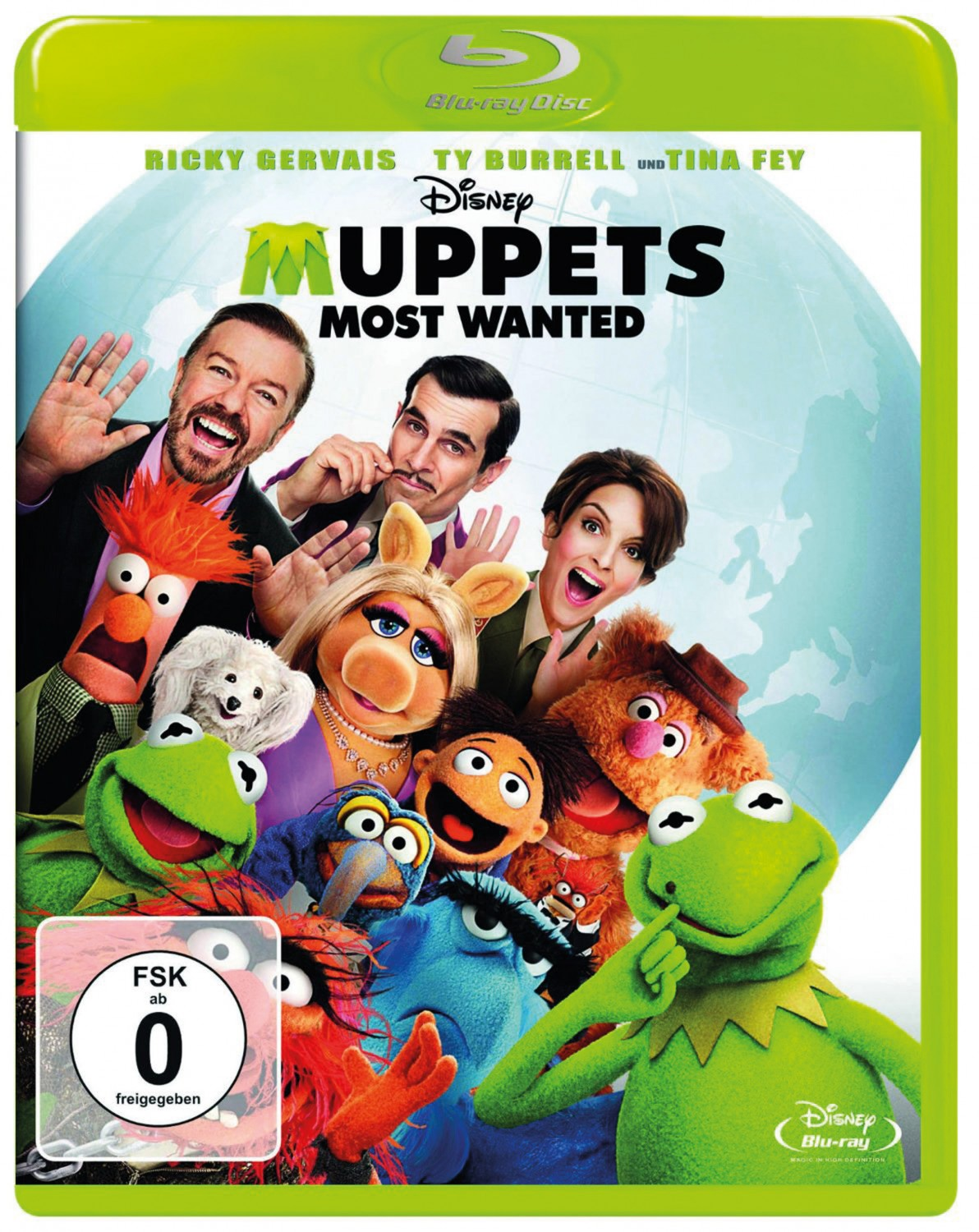 Blu-ray Film Muppets Most Wanted (Disney) im Test, Bild 1