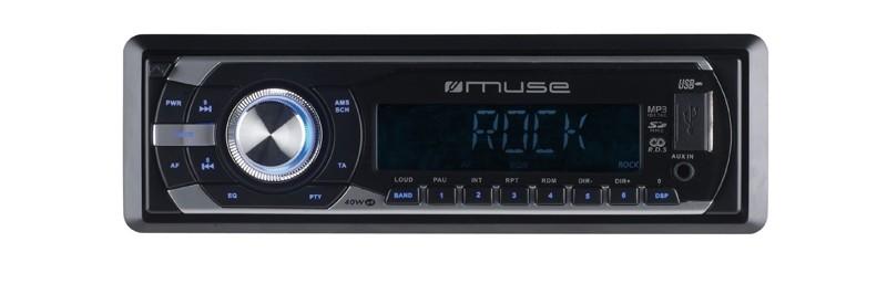 1-DIN-Autoradios Muse M-098MR, Muse M-1015MR im Test , Bild 1