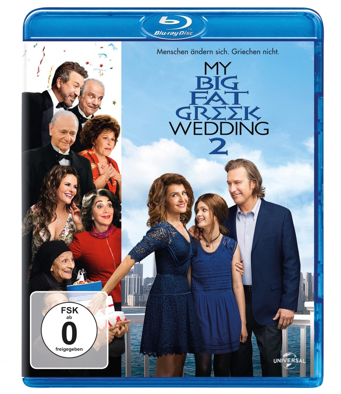 Blu-ray Film My big fat Greek Wedding 2 (Universal) im Test, Bild 1