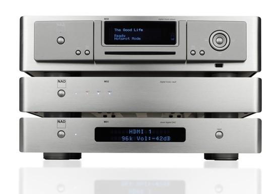 Streaming Client NAD M50, NAD M51, NAD M52 im Test , Bild 1