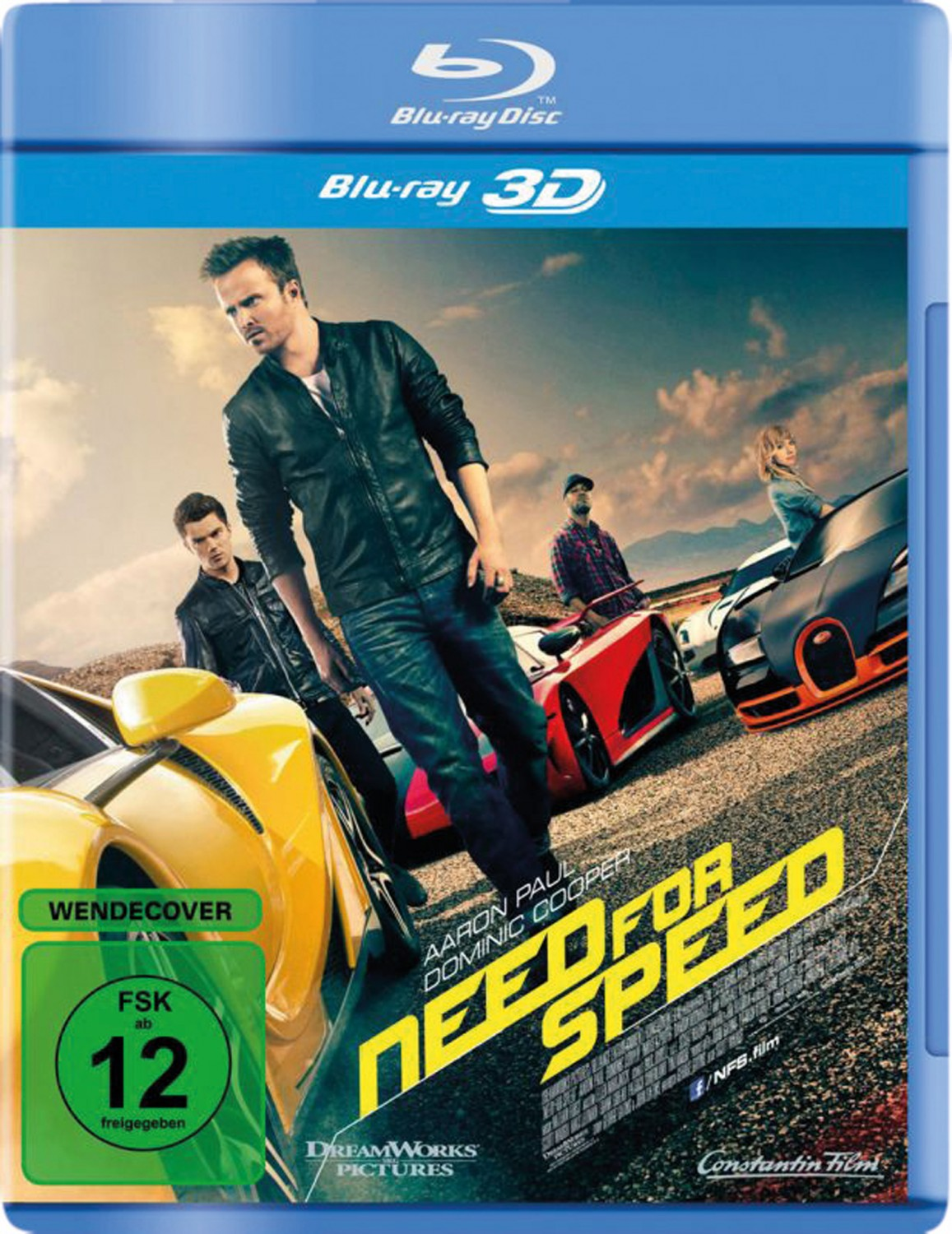 Blu-ray Film Need for Speed (Constantin) im Test, Bild 1