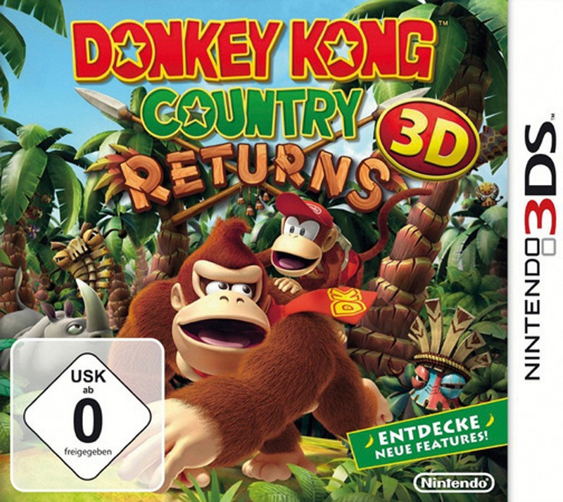 Games Nintendo 3DS Nintendo Donkey Kong: Country Returns 3D im Test, Bild 1