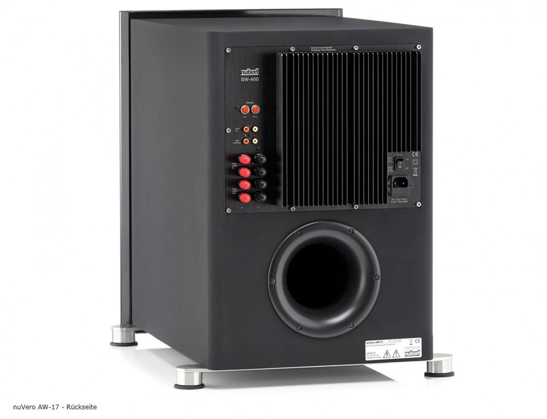 Lautsprecher Surround Nubert nuVero 50 / AW-17 im Test, Bild 5