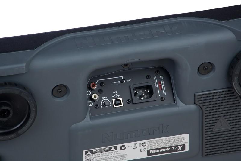Plattenspieler USB Numark TTX USB im Test, Bild 7