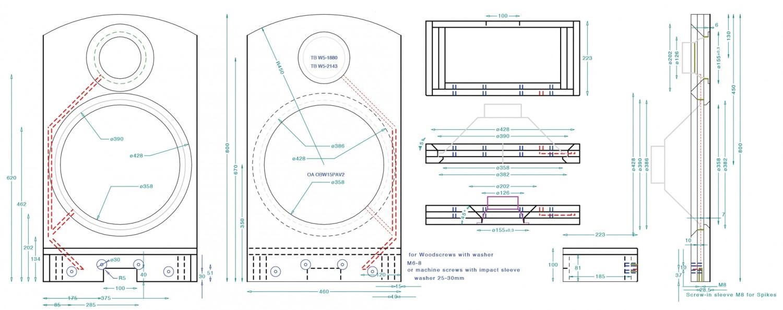 Lautsprecherbausätze Omnes Audio Power Duo W5-2106 im Test, Bild 7