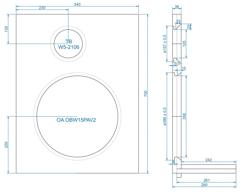 Lautsprecherbausätze Omnes Audio Power Duo W5-2106 im Test, Bild 8