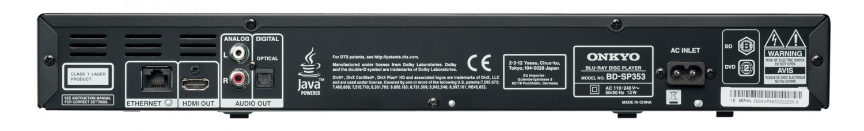 Blu-ray-Player Onkyo BD-SP353 im Test, Bild 2