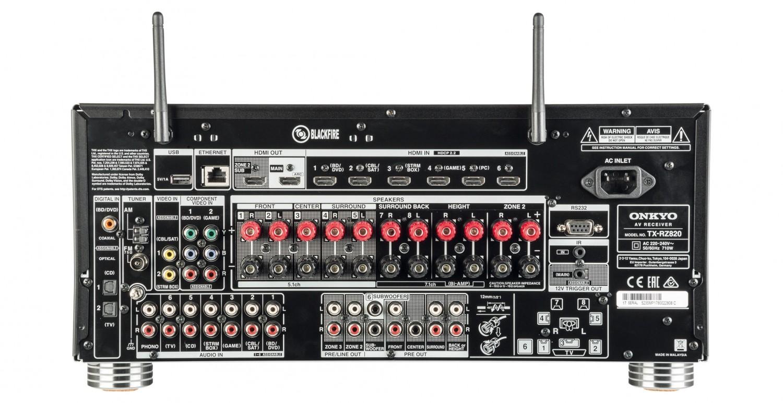 AV-Receiver Onkyo TX-RZ820 im Test, Bild 4